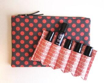 Essential Oil Bag, Essential Oil Pouch, Essential Oil Storage, Essential Oil Travel Bag, Essential Oil Roller Bag, Oil Roller Insert