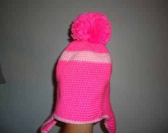 Earflap hat