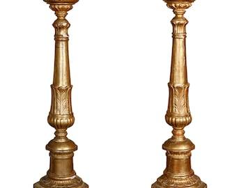 Pair of 19th Century Candlesticks
