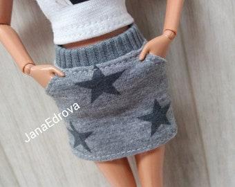 Skirt for Barbie wit pockets