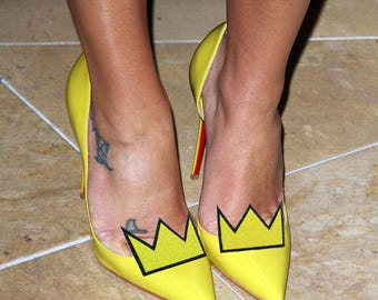Crown - shoe clips