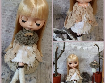 """Blythe @home - Complete collection of 5 patterns for your 12"""" Blythe doll"""