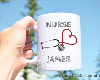 Graduation Gift,Doctors Mug,College graduation,coffee mug,Appreciation gift for Nurse,custom mug,Appreciation gift for doctor,mug OC-NR-001
