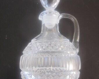 LEAD CRYSTAL PERFUME Decanter Bottle