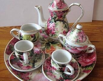 PRICE DROP -Vintage Child's Tea Set