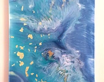 Gold Foiled Sea