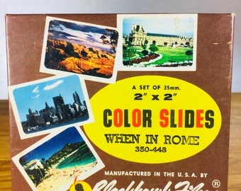 When In Rome Color Slides