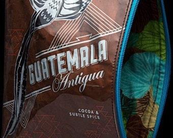 Starbuck coffee bag clutch