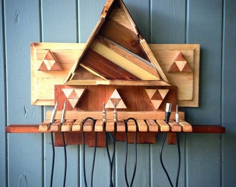Unpainted ZELDA cable tree for recording studio/band room