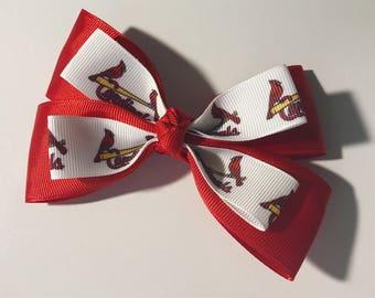 Hair Bow: St. Louis Cardinals