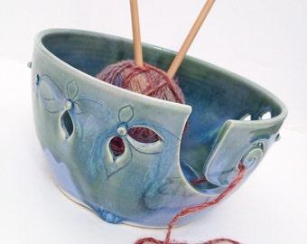 The Elegant - Wheel Thrown Yarn Bowl MADE TO ORDER