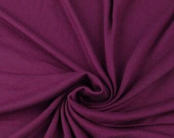 Dark purple top knot headwrap