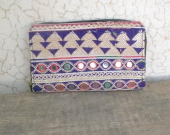 Afghani purse, embroidery, boho, ethnic, Indian, bohemian purses. vintage, re-cycle, banjara, rabari, balochi, mirror work,
