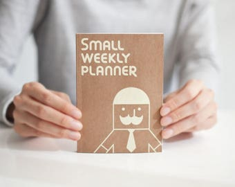 Weekly planner -small size