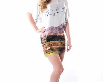 Silk Mini Dress, landscape design