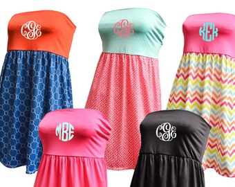 Monogrammed Swimsuit Coverup