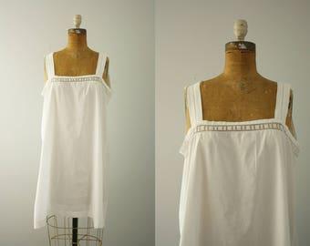 1920er Jahre Rutsch | Jahrgang der 20er Jahre Baumwolle Nachthemd