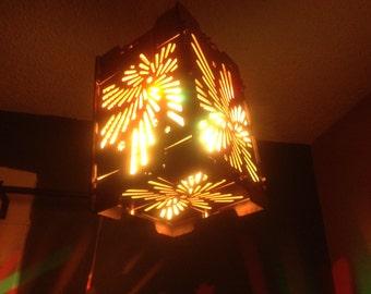 LineWave Laser Birch Lantern