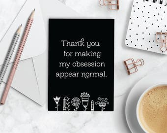 Thank You (Funny) Greeting Cards: 5pk; 10pk; 25pk & 50pks | Essential Oil Greeting Cards | doTERRA Thank You Cards | Funny Thank You Cards