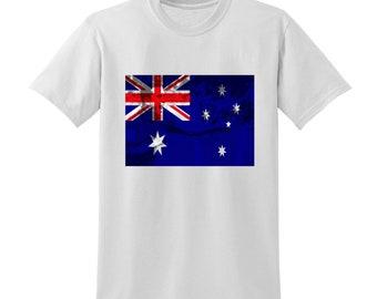 Russia World Cup 2018 Graphic Tshirt AUSTRALIA Flag Football Team Soccer Country
