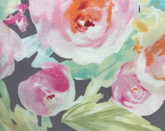 Floral Crib sheet, Changing pad cover, Crib skirt
