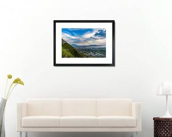 Mountain slope high quality photo print, landscape, wall art, fine art, home decor, Utah, 8x12, 12x18, 20x30, 28x40, free shipping