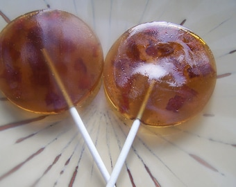 15 2 Inch Maple Bacon Breakfast Meat Lollipop Sucker Party Favor