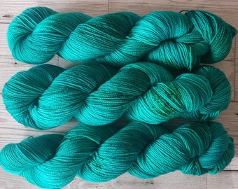 Jade Palace ~ Barbarella ~ Merino Nylon Stellina Sock Yarn