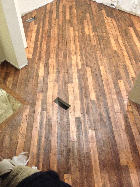 unstained hardwood floors