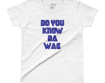 do you know da wae Ladies' T-shirt SEGA preshrunk ultra cotton
