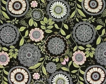 1 yard of Olive Lacework by Amy Butler