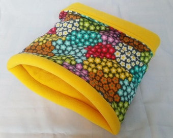 Snooze Sack in Ditsy Flowers/Yellow