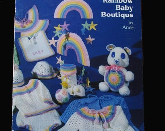 Crochet, Crochet Patterns, How to crochet, Rainbow Baby Boutique by Anne