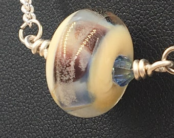 Lampwork Glass Bead Necklace