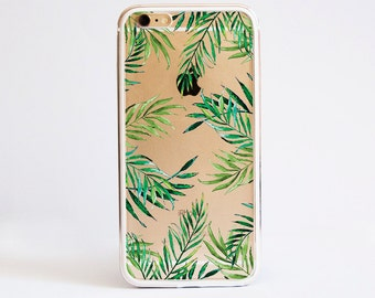 Tropical Leaves - Aluminium Bumper Phone Case for iPhone and Samsung