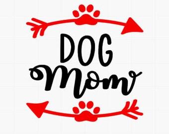 Dog mom / car decal / dog mom decal / vinyl decal / yeti decal / tumbler decal / laptop decal / yeti decal / yeti tumbler decal / car decal