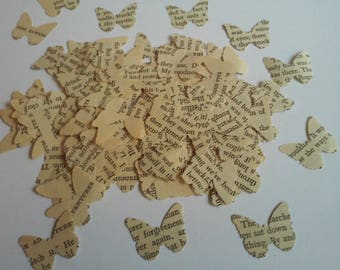 50 Paper Butterflies, Butterfly Punches, Confetti, Paper Embellishment, Butterfly die cuts