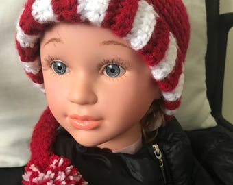 Crotcheted  Elf hat