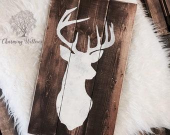 Deer Decor /  Hunter Sign /  Hunter Gift /  Wood Sign / Deer Sign / Hunting Decor
