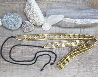 Tribal Belly Dance Belt,Gypsy Belt,brass belt, ethnic belt, bohemian belt