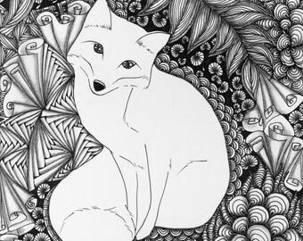 Fox Giclée Print