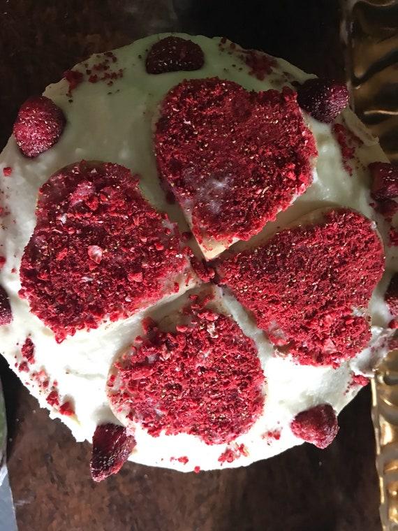 Vegan Lemon  Strawberry shortcake birthday cake!