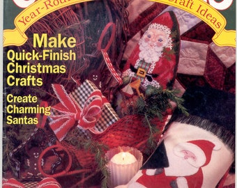 CHRISTMAS Year-Around Needlework & Craft, Nov. /Dec.   1992