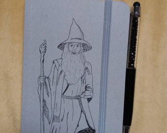 Gandalf sketchbook / notebook Gandalf