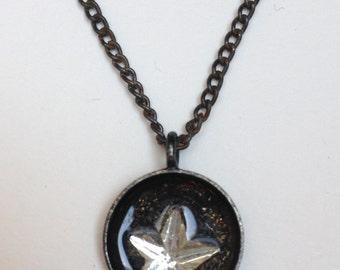 Vintage Star Rhinestone Necklace