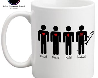 Trombonist- Funny Coffee Mug- Gift for Trombone Player- Musician Gift- FREE UK SHIPPING