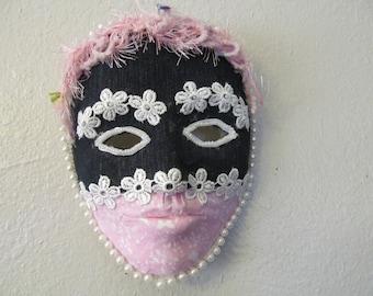 Country Boho Denim Girly Decorative Mask Home Decor