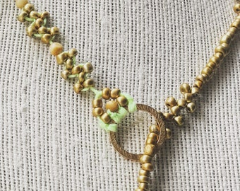 Necklace for Women |Long Lariat Beaded Necklace | Gift for her