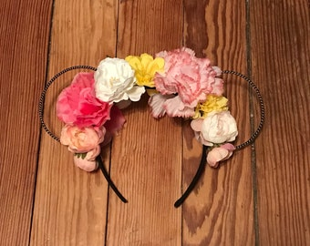 Floral Wire Mouse Ears