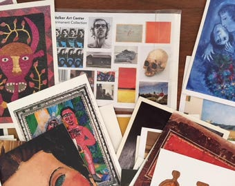 Art-Related Postcards/Ephemera